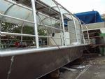 Izrada aluminijskog broda za  prijevoza putnika na jezeru Bajer